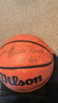 Signed Bruce Pearl Basketball
