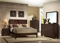 NEW MADISON QUEEN BED,DRESSER, MIRROR AND NIGHT STAND Peachtree Corners