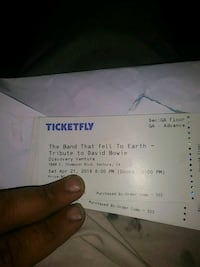 Tribut to David Bowie tickets