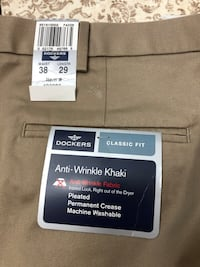 Dockers Men's Pant 38x29 Fort Myers, 33913