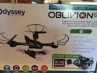 black and gray Odyssey Oblivion quadcopter drone box Simi Valley, 93063