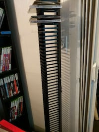 black metal DVD/CD rack New Westminster, V3M