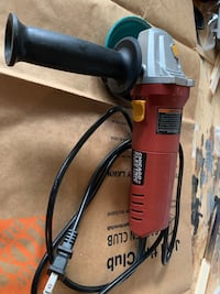 CHICAGO ELECTRIC Corded 4-1/2 In. 5 Amp Angle Grinder