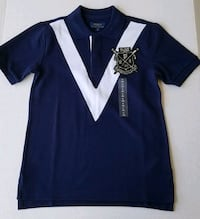 Ralph Lauren Polo Shirt Size 8 Blue