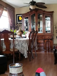 China cabinet with table and 6 chairs  Edmonton, T5E 2A7