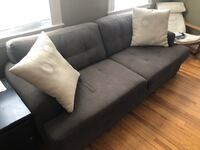 Grey Couch/Sofa  BOSTON