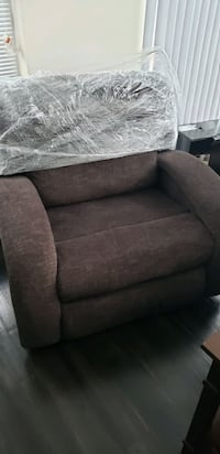 Good condition Chair and a Half in brown North Bethesda, 20852