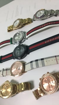 Watch jewelry gold silver Gucci  Frederick