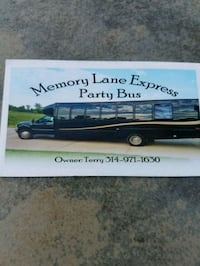 Party bus rental House Springs, 63051