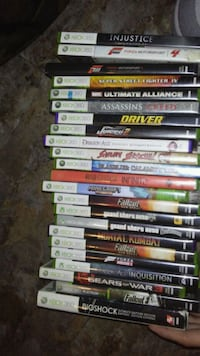 assorted Xbox 360 game cases Barrie, L4M