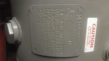 20 gal air tank new never used...