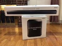 BOSE SOUNDTOUCH 300 & ACOUSTIMASS 300 Washington, 20011