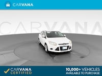 2014 Ford Focus sedan SE Sedan 4D White <br />