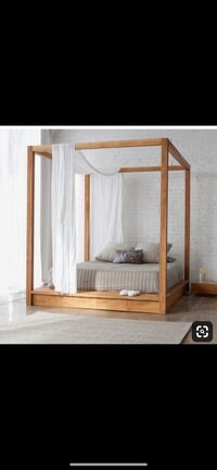 Hand made canopy bed frame . Bethesda, 20814
