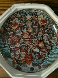 Vintage Santa Claws Decorative Hanging plate  Virginia Beach, 23462