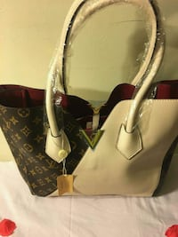 brown Louis Vuitton monogram leather tote bag Silver Spring, 20904