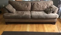 Two full size sofas. $115 each or $230 for both Brampton, L6Y 5L4