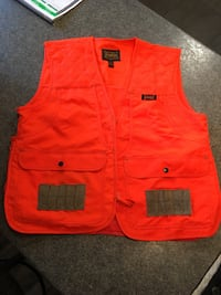 New Game Hide Orange Hunting Vest Size Medium  Burnaby