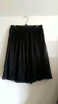 Black lace skirt Burnaby, V5C 6L7