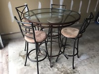 Dining set (table and chairs) Manassas, 20110