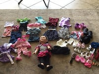 Imitation American girl doll with clothes  Indian Harbour Beach, 32937