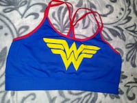 blue and red Nike sports bra Running Springs, 92382