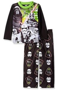 SIZE 4T- BRAND NEW WITH TAGS- OFFICIALLY LICENSED STAR WARS- 2 PC PAJAMA SET  Sarnia, N7T 1J2