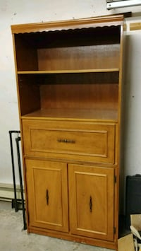 brown wooden cabinet with drawer Laval, H7X 3E4