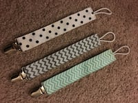 Pacifier clips - new Middleboro, 02346