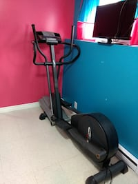 black and gray elliptical trainer Longueuil, J3Y 5G9