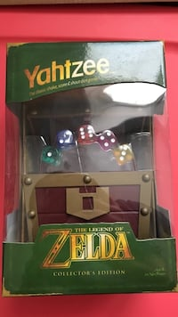 Legend of Zelda Yahtzee NEW Mississauga, L4W