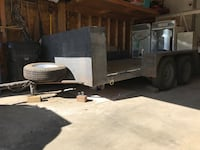 gray and black utility trailer Calgary, T3M 1A8