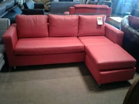 Bonded Leather Sectional with reversible ottoman  Phoenix, 85018