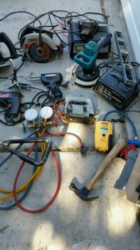 Tools , tool box, battery chargers,  see pictures  Las Vegas, 89156