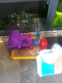 two red and blue pet cages Chesapeake, 23323