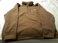 brown zip-up jacket worn once but too small 172 mi