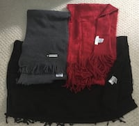 4 scarves, gloves and more  Edmonton, T6R 0E2