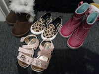 Size 6 toddler girl shoes Colton, 92324