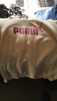 tan and red Puma pullover hoodie Anchorage, 99567