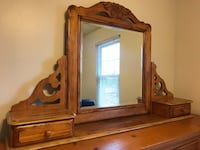 Solid Maple Dresser with mirror Cranberry Twp, 16066