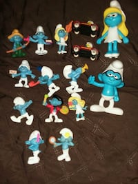 16 assorted Smurfs Coraopolis, 15108