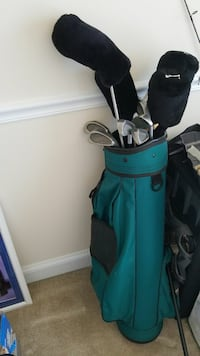 green and black golf bag full set Alexandria, 22310