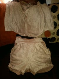 Gold shorts set $6 Indianapolis