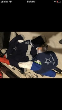 Baby cowboys outfit and bib- brand new