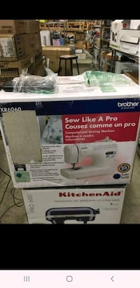Brand New Brother XR6060 Computerized Sewing Machi Toronto, M1W 2S4