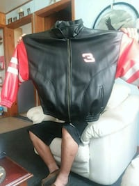 black and red zip-up jacket Batavia, 14020