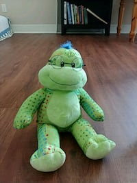 green and green frog plush toy 822 mi