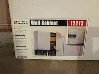 Wall cabinet for garage or shop