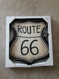 Route 66 lighted sign Yorba Linda, 92886