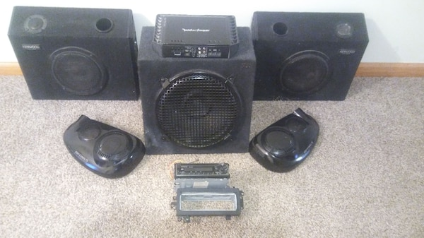Car audio lot. Must go.